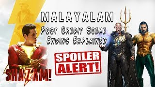 Shazam! - Post Credit Scene and Ending Explained in Malayalam   VEX Entertainment