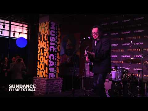 "Rodriguez Performs ""Sugar Man"" at the Sundance ASCAP Music Café"