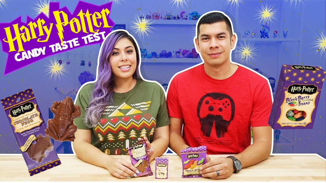 Harry Potter Candy Taste Test!