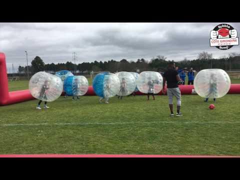 activité bubble jump stage à la J.ST