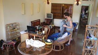 Cambodia Home Cleaning / Kamboçya'da ev temizliği - Timelapse - funny
