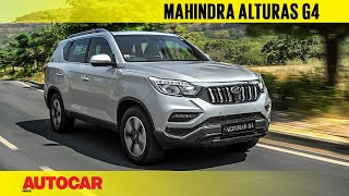 Video Mahindra Alturas G4 - the new Rexton | First India Drive Review | Autocar India MP3, 3GP, MP4, WEBM, AVI, FLV Desember 2018