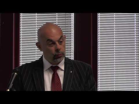 Seminario sul trasporto, l'intervento di Roberto Tegas