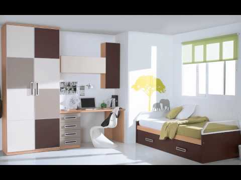 Dormitorios 4 private 4rum for Habitaciones juveniles compactas