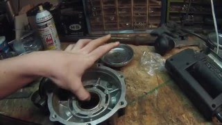 9. The Suzuki 2004 LTZ-250 Project - P3 - Rear Differential Bearings