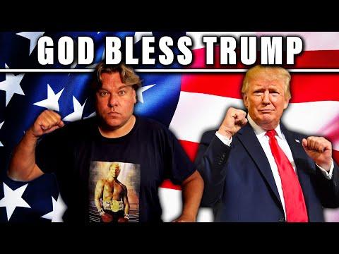 God bless Trump - Jensen