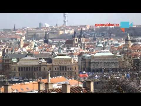 1/2 Maraton v Praze z Pražského hradu