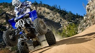 5. 2009 Yamaha YFZ450R ATV First Ride - MotoUSA