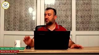 002 Bakara Suresi II. Kur 043. Ayetin Tefsiri-2 (Yasin Karataş Hoca)