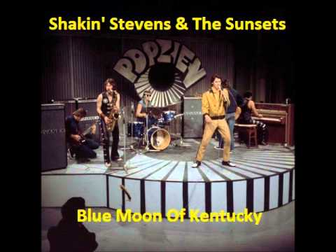 Tekst piosenki Shakin Stevens - Blue Moon Of Kentucky po polsku