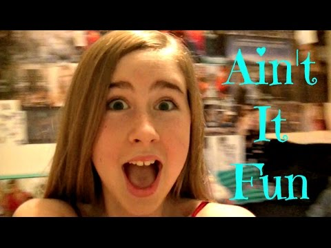 Ain't It Fun - Paramore By Samantha Potter (12 Years Old)