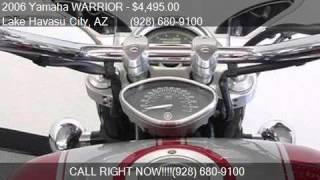 6. 2006 Yamaha WARRIOR  for sale in Lake Havasu City, AZ 86403