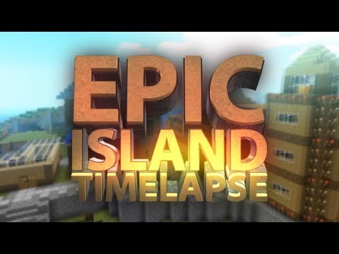 Minecraft – EPIC Island Build Timelapse