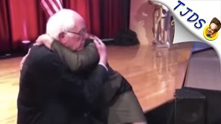 Bernie Sanders Hugs Desperate Woman After West Virginia Townhall