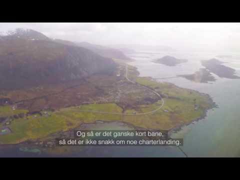 Norges vakreste innflygning Ålesund