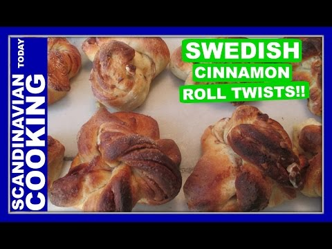 Kanelbullar – Swedish Cinnamon Roll Twists – Kanelsnurror