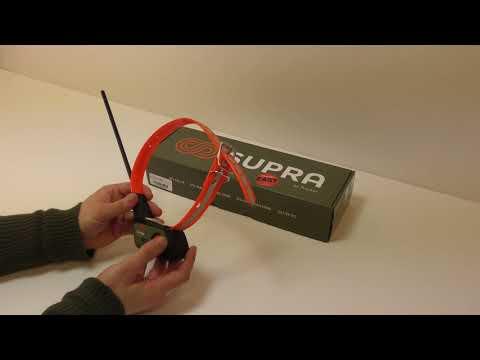 Collier de repérage pour chien Tracker SUPRA 2G-3G
