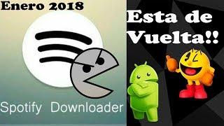 Spotify Downloader Ultima Versión 2018 | PacmanDroid