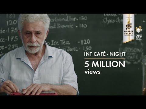 INTERIOR CAFÉ NIGHT by Adhiraj Bose