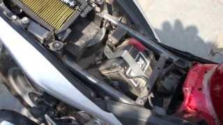 7. K&N air filter on my 2012 honda cbr 250R