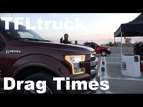 150 - http://www.TFLtruck.com ) What's the fastest new pickup truck in America in a straight line? Is it the new 2015 Ford F-150 5.0L V-8 or perhaps the new Ford F-150 3.5L EcoBoost or is it the...