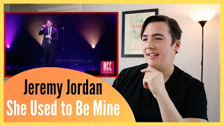 REAL Vocal Coach Reacts to Jeremy Jordan Singing
