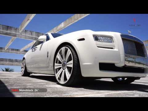 MC Customs | Rolls Royce Ghost • Vellano Wheels