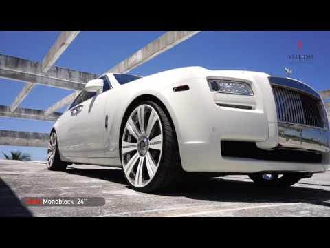 MC Customs | Rolls Royce Ghost • Vellano Wheels
