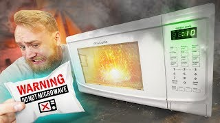 Video DO NOT Microwave These Things! MP3, 3GP, MP4, WEBM, AVI, FLV Desember 2018