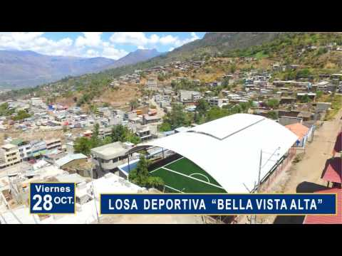 17  OCT. / INAUGURACION DE LOSAS DEPORTIVAS DE LOSAS DE GRASS SINTETICO