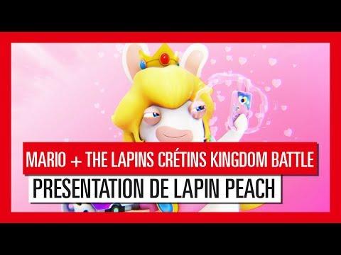 Mario + The Lapins Crétins : Kingdom Battle - Présentation de Lapin Peach [OFFICIEL] VOSTFR HD