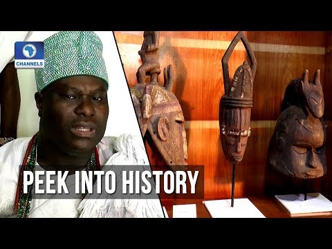 Ooni Of Ife Offers A Peek Into History Of Yoruba Tribe In Art Exhibition