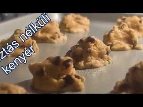 Dagasztásnélküli kenyér - Vargáné Barabás Csilla