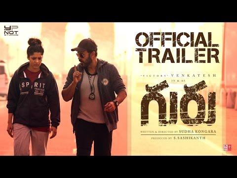 Guru Telugu Movie Trailer (2K HD) | Venkatesh | Ritika Singh | Mumtaz Sorcar | Sudha Kongara