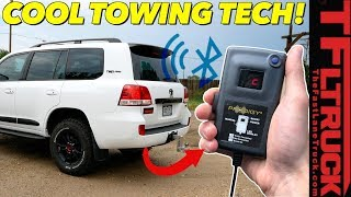 Here's How To Tow Heavy Without a Brake Controller   Wireless Brake Controller Comparison Review! by The Fast Lane Truck