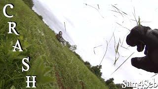 4. Crash on Suzuki DR650 2014  ¦  Sum4Seb Motorcycle Video