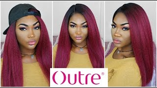 Autumn/Fall Wig Outre Lace Wig Jada  Epic UK Review