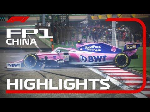 2019 Chinese Grand Prix: FP1 Highlights - Thời lượng: 3 phút, 1 giây.