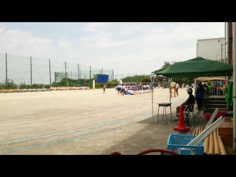 【2016/5/14】川崎市立枡形中学校 体育祭 青ブロック3分応援