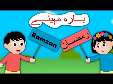 Islamic Months Song In Urdu | بارہ مہینے | Assalamualikum Finger Family| Rhymes Collection For Kids