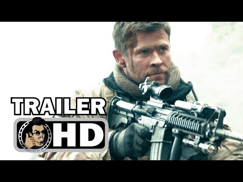 12 STRONG Official Trailer (2018) Chris Hemsworth War Drama Movie HD
