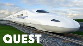 Video Japan's Tokaido Shinkansen Bullet Train   Mighty Trains MP3, 3GP, MP4, WEBM, AVI, FLV Mei 2018