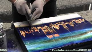Amazing Talent - New York City Spray Paint Art - YouTube