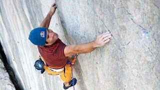 Chris Sharma goes Back to the Future on Magie Blanche (8b+) 1986 by Petzl Sport