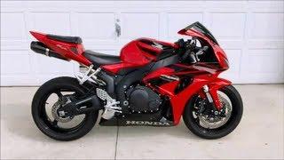 10. 2007 Honda CBR 1000rr Sport Bike Motorcycle Walk Around