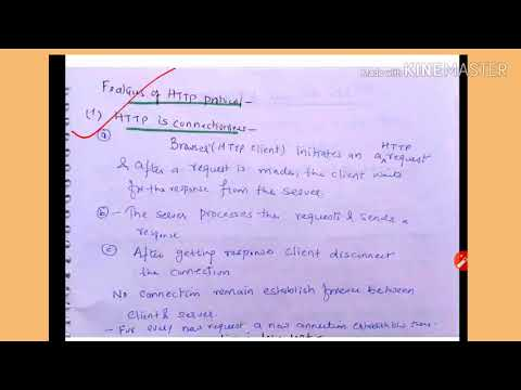 Features of http protocol - lecture10/IWT