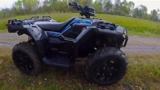 9. 2017 Polaris Sportsman 850 sp first ride