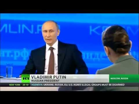 Putin explains Russia's position on Ukraine