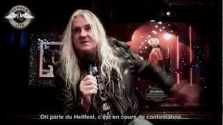Saxon - Interview Biff Byford - Paris 2013