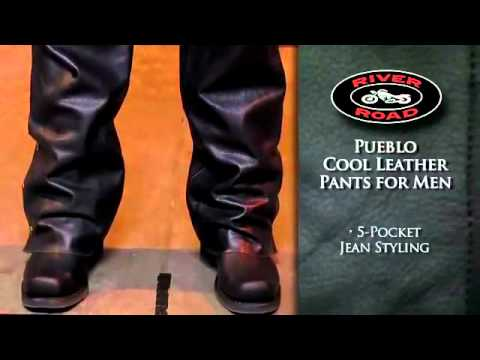 River Road Pueblo Cool Leather Overpants at Motorcycle-Superstore.com